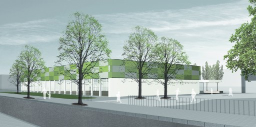 Wettbewerb Sporthalle, Berlin