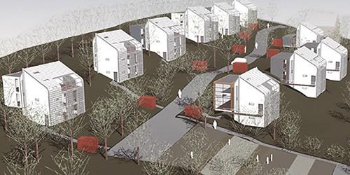 Wettbewerb Modulares Wohnen, Odenwald