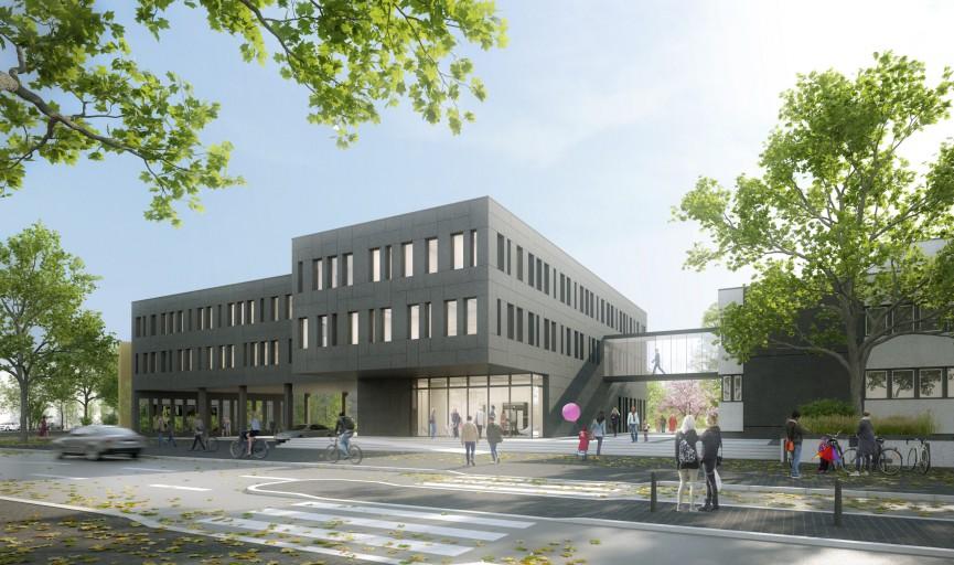 Wettbewerb Erweiterung Rathaus Ahrensburg
